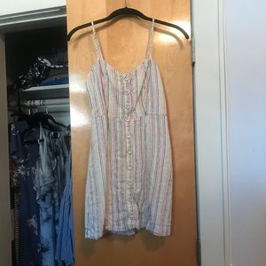 Forever 21 Striped Camisole Dress